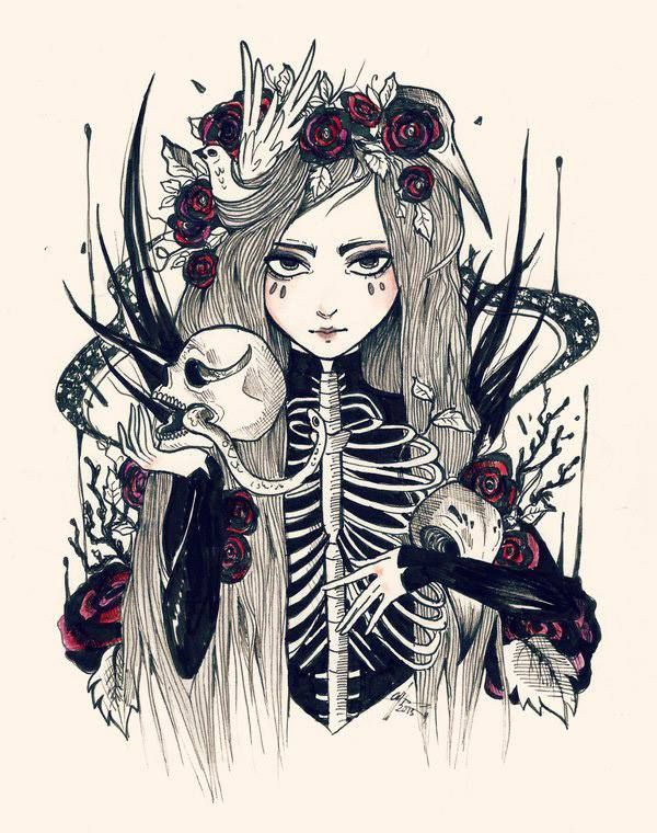 Esqueleto Produccion Artistica Como Dibujar Cosas Dibujos