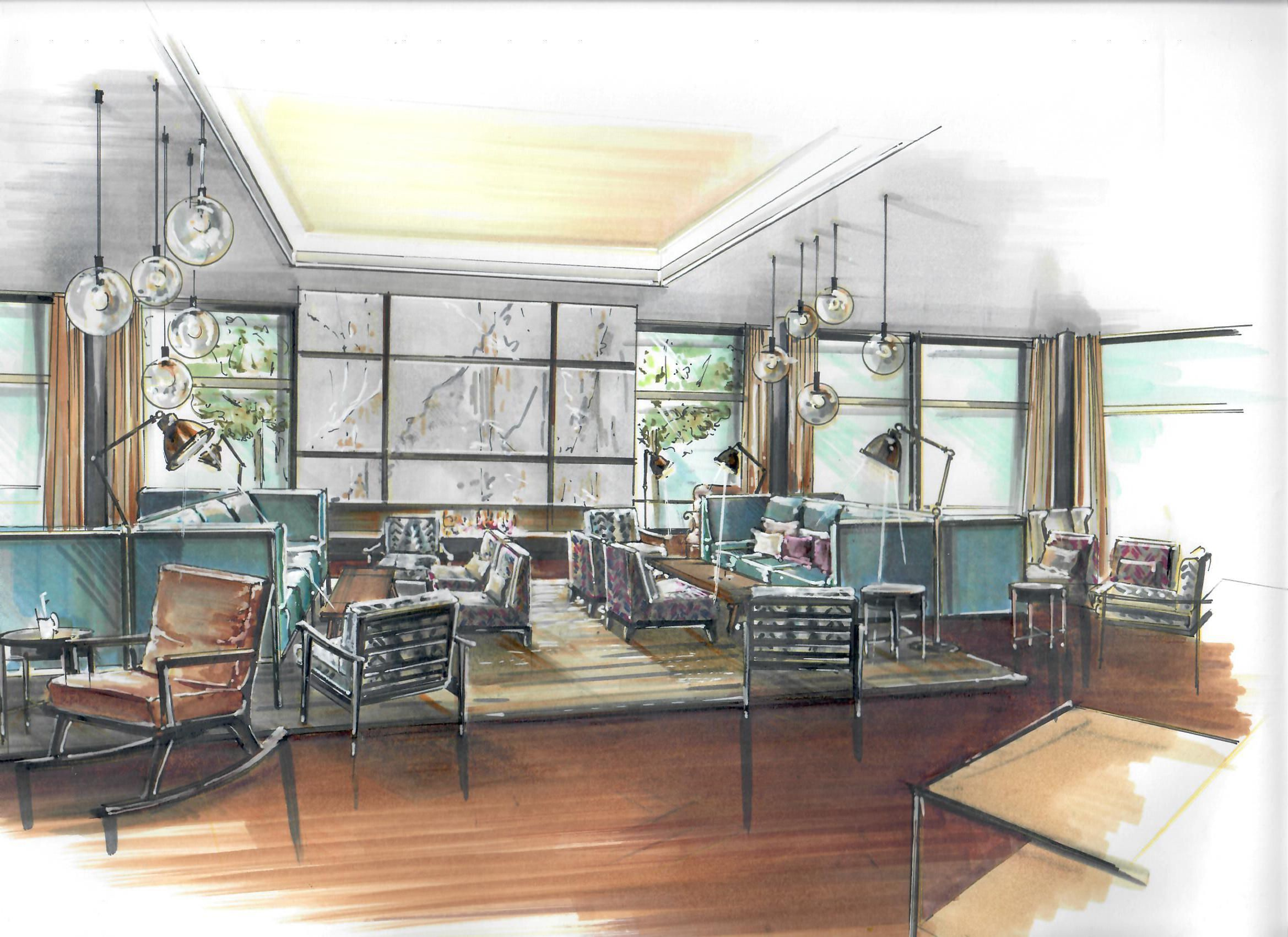 Pin By Kristina Tomita On Architecture Pinterest Sketches Interior Sketch And Interiors