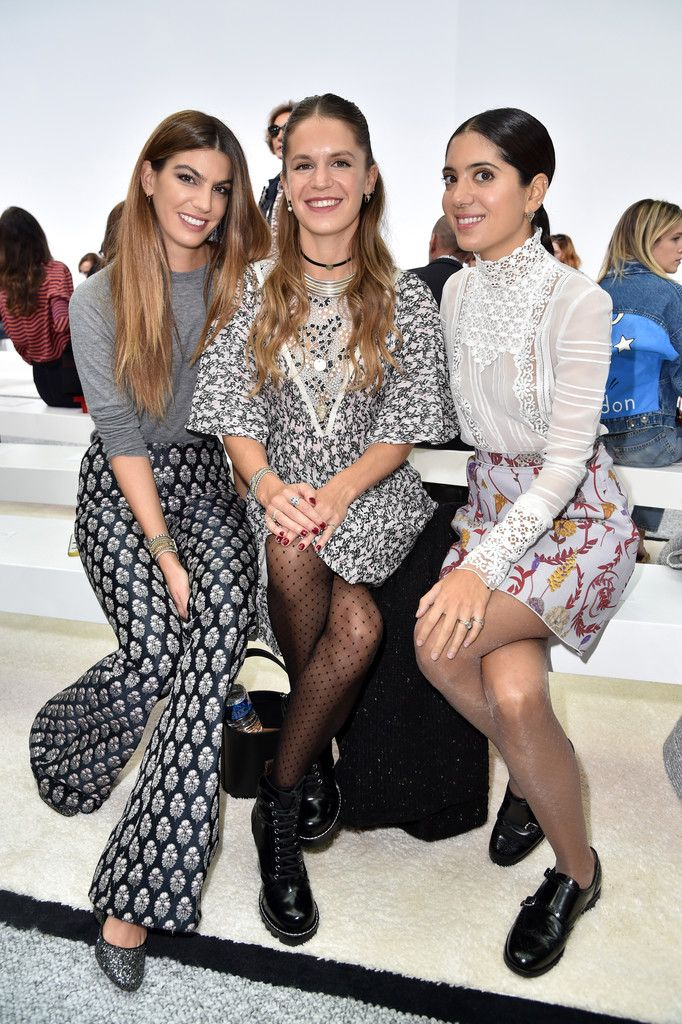 Noor Fares Photos Photos - Eugenie Niarchos, Bianca Brandolini d'Adda and Noor Fares attend the Giambattista Valli show as part of the Paris Fashion Week Womenswear  Spring/Summer 2017  on October 3, 2016 in Paris, France. - Giambattista Valli : Front Row  - Paris Fashion Week Womenswear Spring/Summer 2017