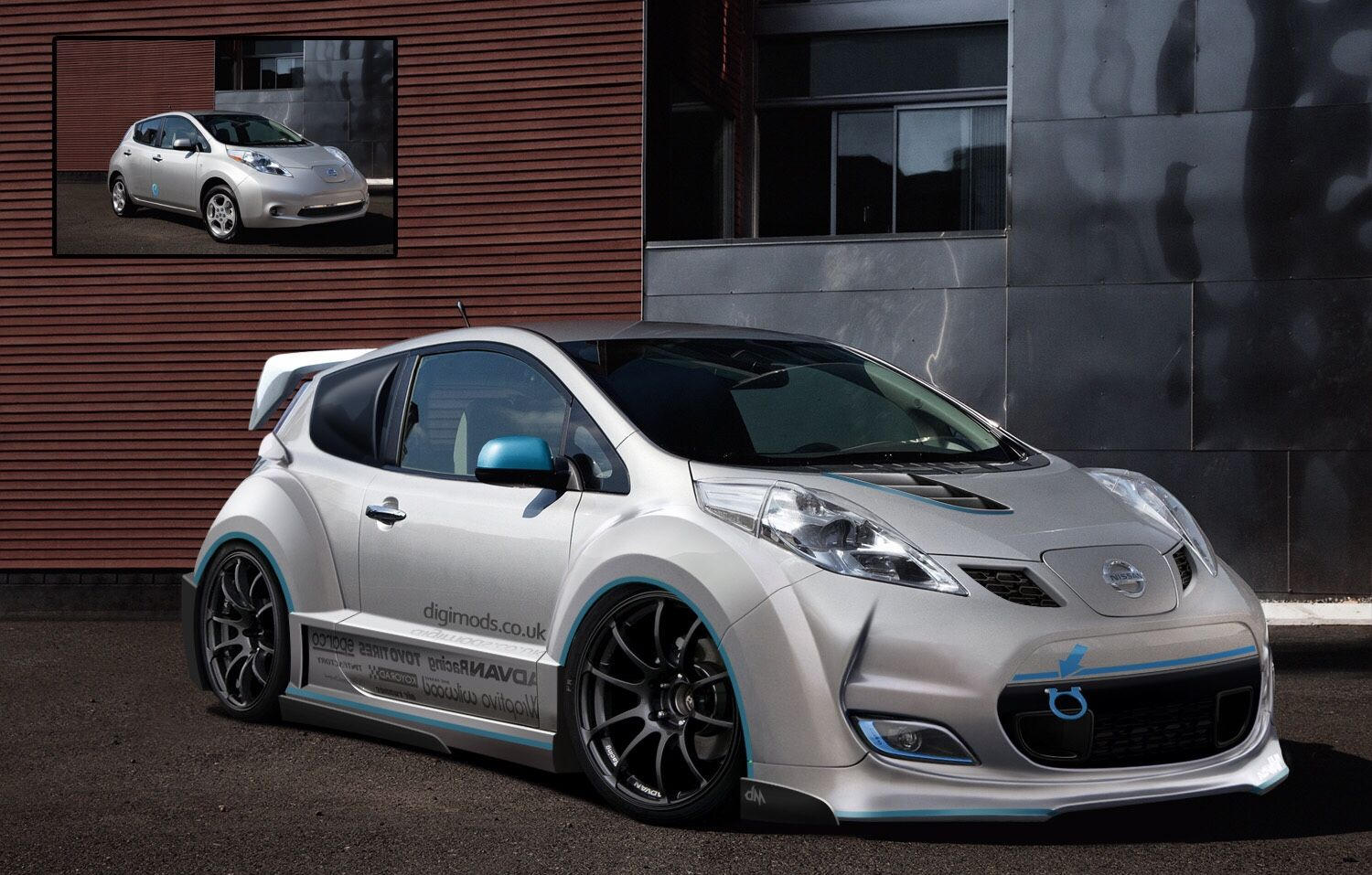 Nissan Leaf Body Kit Concept I D Take One Looks Dope Jdm