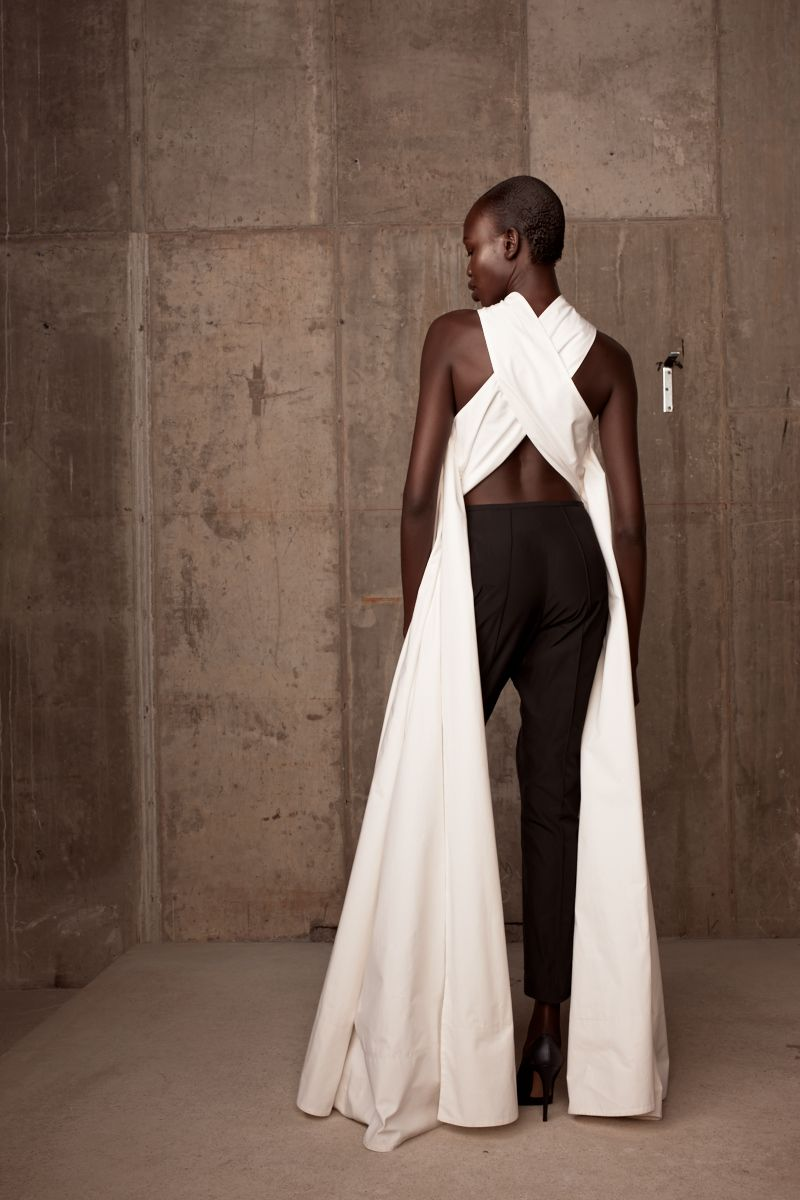 It is rare that a new designer debuting her first ever collection could