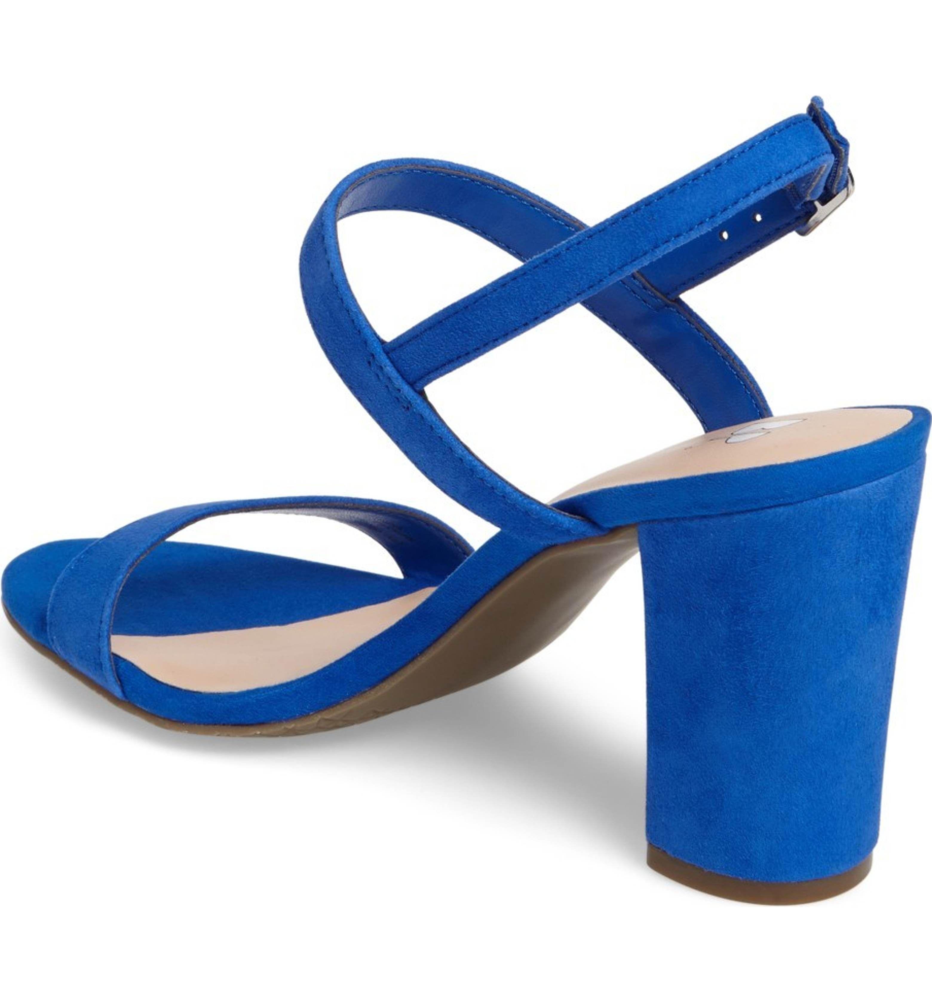 7ae3c1548389 BP. Lula Block Heel Slingback Sandal (Women)