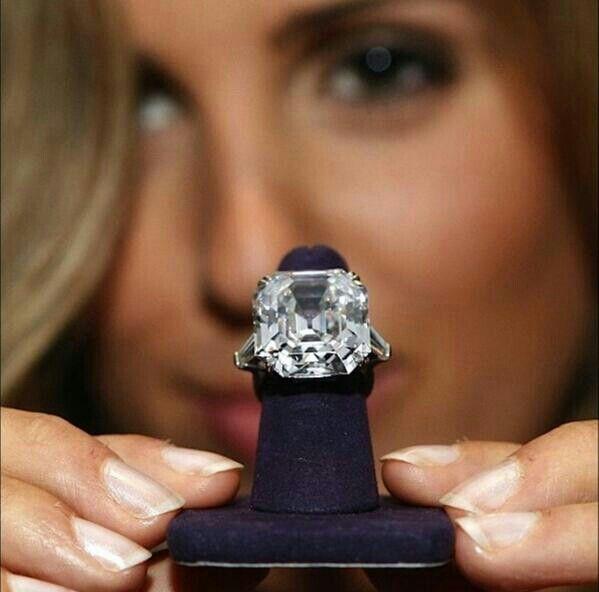 Carat Asscher Cut Krupp Diamond