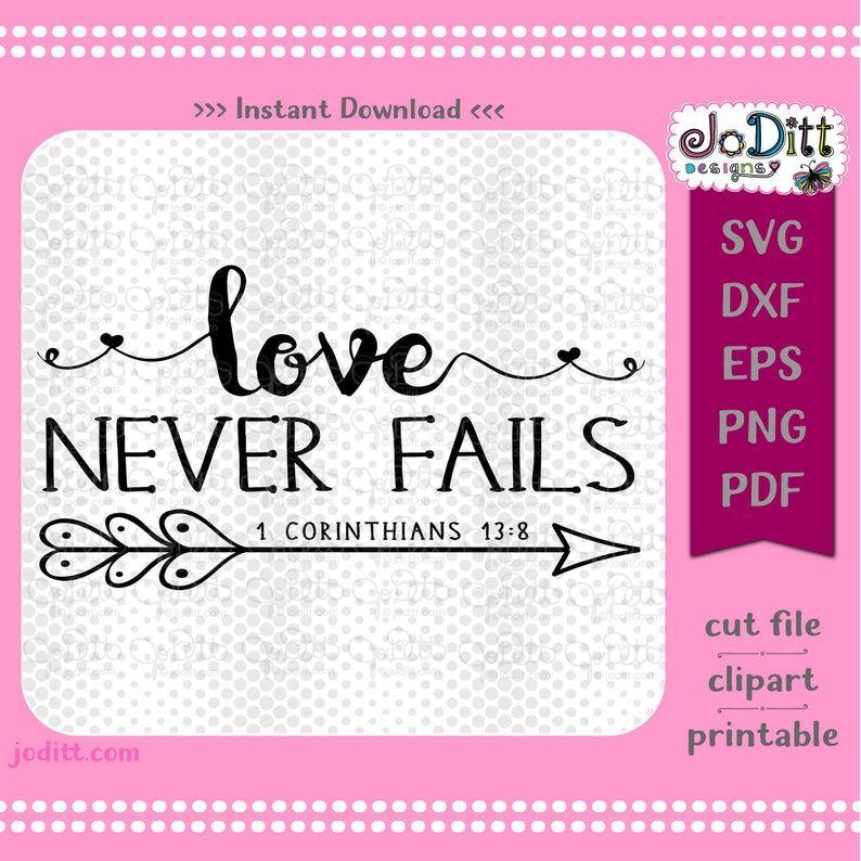 Download Love SVG Love Never Fails SVG Love Sign Svg Heart Arrow ...