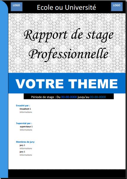 Rapportdestage v tements et accessoires pinterest search - Page de garde rapport de stage open office ...