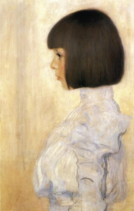Klimt -Portrait of Helene Klimt
