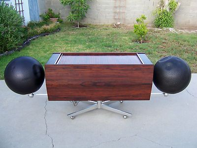 RARE Clairtone Project G T4 Stereo Console Unit Rosewood Cabinet Phonograph  | EBay