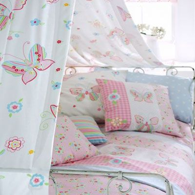 Butterfly Toddler Bedding | Kids Fabric For Kids Curtains, Nursery Rooms,  Rooms Bedding And