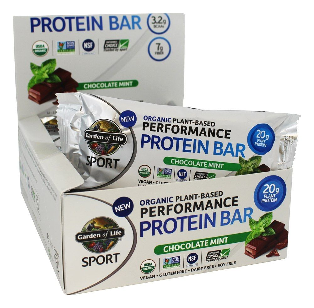 Sport Organic PlantBased Performance Protein Bars