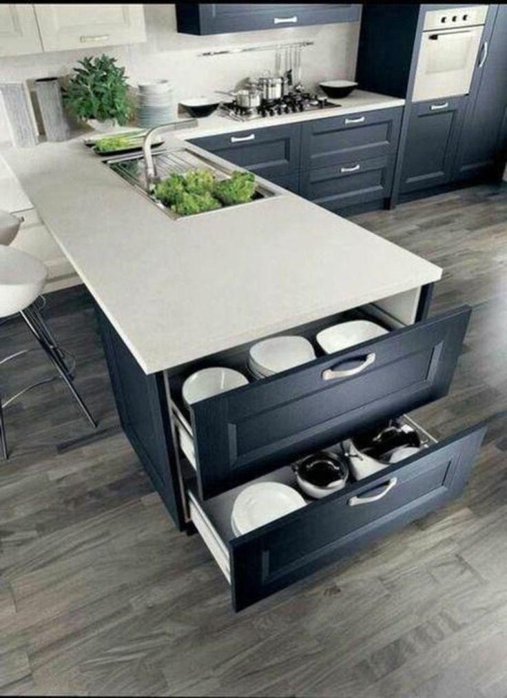 Photo of Inspirierende Ideen zur Aufbewahrung in der Küche um Platz zu sparen