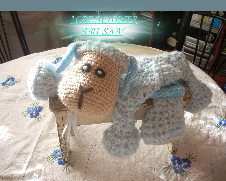 ovejita porta algodon