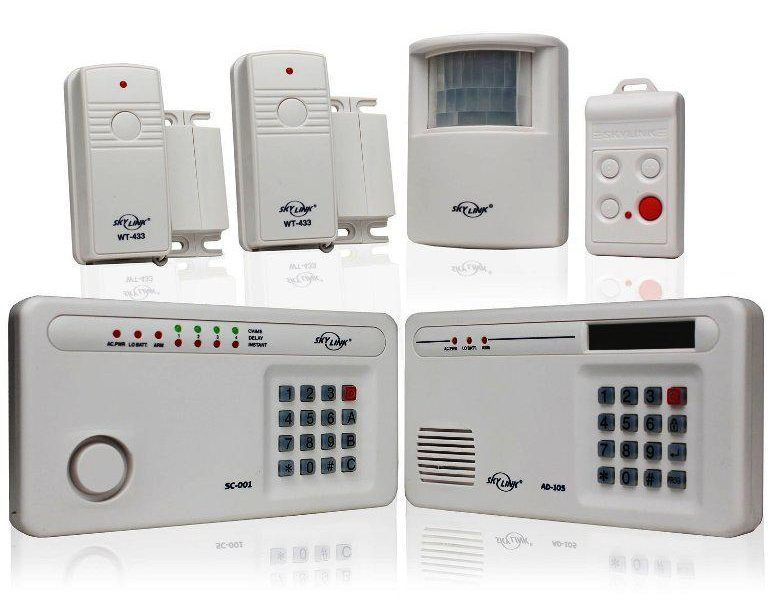 Security Alarm Systems Wireless Reviews Wireless Home Security Systems Home Security Systems Alarm Systems For Home