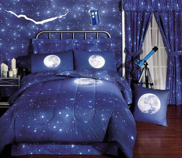 Charmant Doctor Who Room | Starry Doctor Who Room.