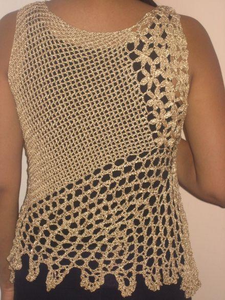 2656cb3b87ab7 blusas tejidas a crochet en colores - Buscar con Google Quadrados