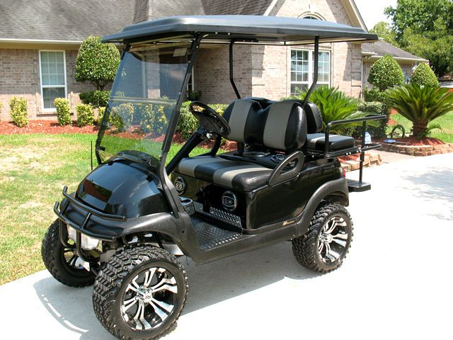 Lifted Golf Carts Bing Images Chad To Get Pinterest
