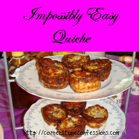 Impossibly easy quiche recipe easy quiche quiche recipes and impossibly easy quiche recipe forumfinder Choice Image