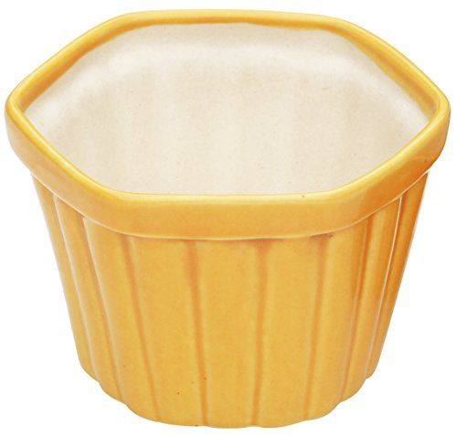Easter Yard Decor - SouvNear Ceramic Planter Pot for Indoor and Outdoor - 3.4 Inches Yellow Square Small Herb Planter - Decorative Planters / Nursery Flower Pots - Gifts and Decorations for Balcony / Window / Garden and Home SouvNear http://www.amazon.com/dp/B00S164D7G/ref=cm_sw_r_pi_dp_CSq9wb19Q2P3Y