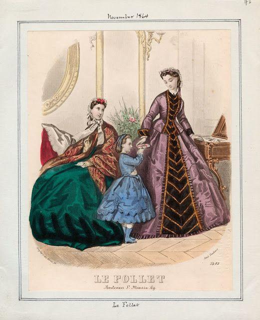 Le Follet, November 1864