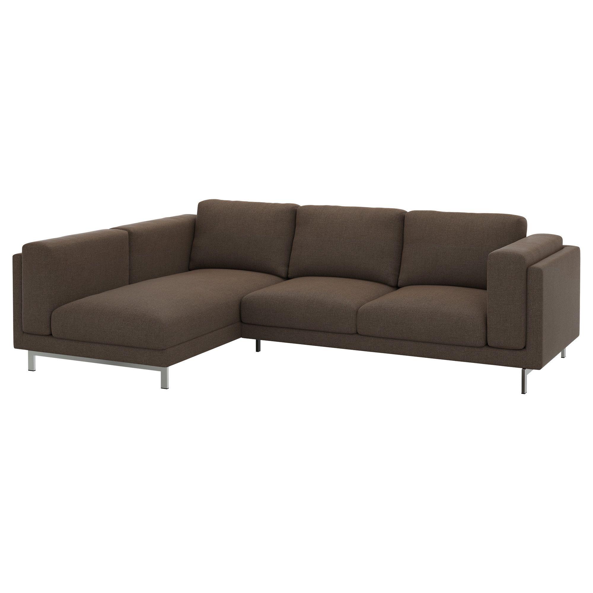 nockeby 2er sofa mit rcamiere links ten braun braun jetzt bestellen unter - Wohnzimmer Couch Gunstig
