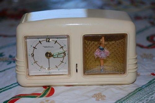 White Ballerina Alarm Clock Unique Alarm Clocks Vintage Alarm Clocks Vintage Clock