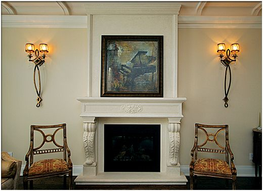 Fireplace Mantel Small Bologna - Here is a fireplace mantle of ...