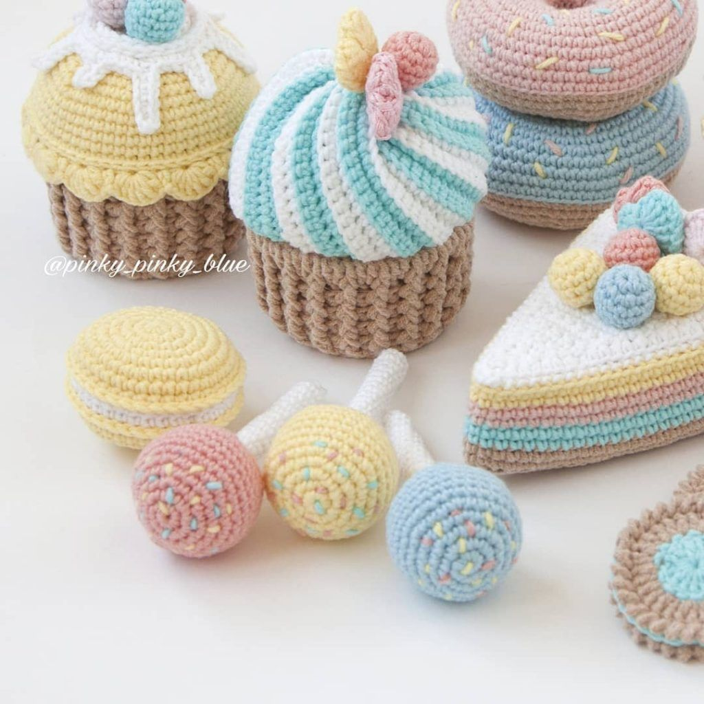 Play with Your Food: 40 Free Amigurumi Patterns to Crochet Today ...   1024x1024