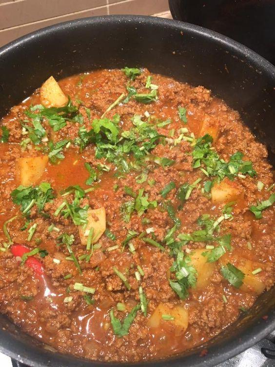 Goan Red Beef Kheema Goan Recipes Indian Food Recipes Cooking