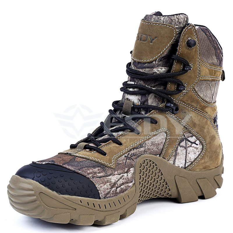 MEN WINTER WALKING HIKING TACTICAL MILITARY HUNTING BOOTS TRAINERS WORK SHOES