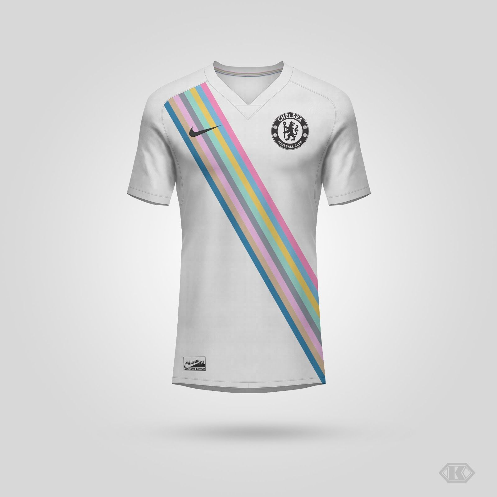 Nike Chelsea City Edition Kit Concept Inspired By Nba By Kifth Footy Headlines Chelsea City Chelsea Nike