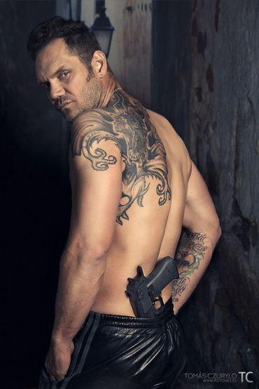 Tattoed male porn stars