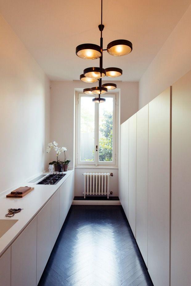 1000  ideeën over lange smalle keuken op pinterest   smal ...