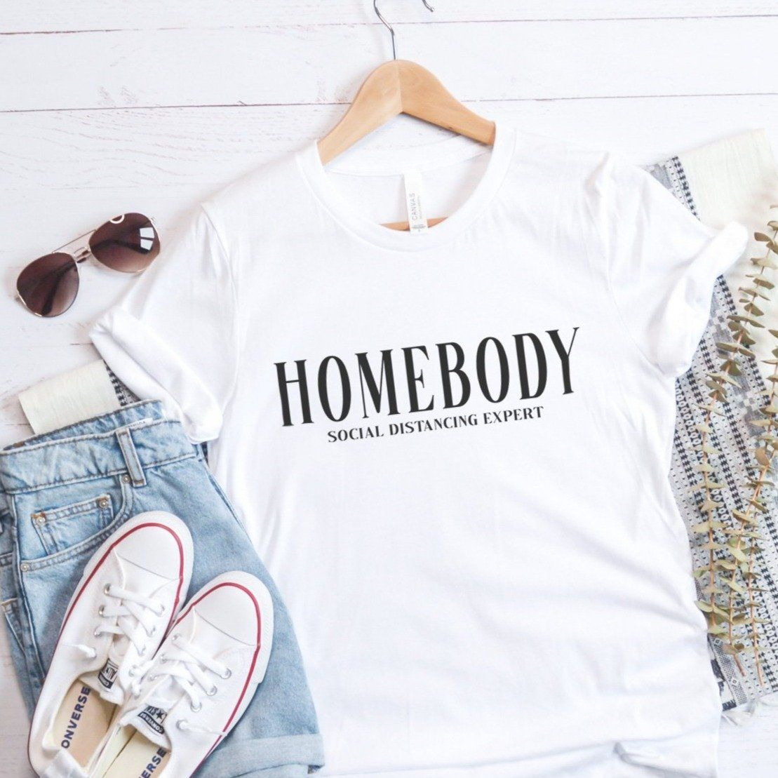 HOMEBODY social distancing expert Short Sleeve TShirt in 2020
