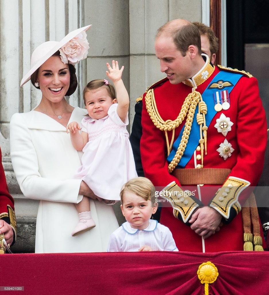 Trooping the colour. 11 June 2016