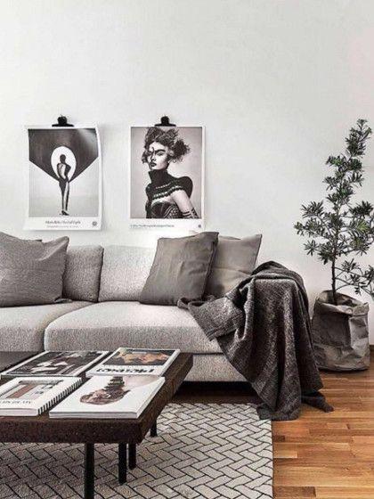 Farbtrends 2017 » Diese Farben sind nächstes Jahr angesagt - skandinavisch wohnen wohnzimmer
