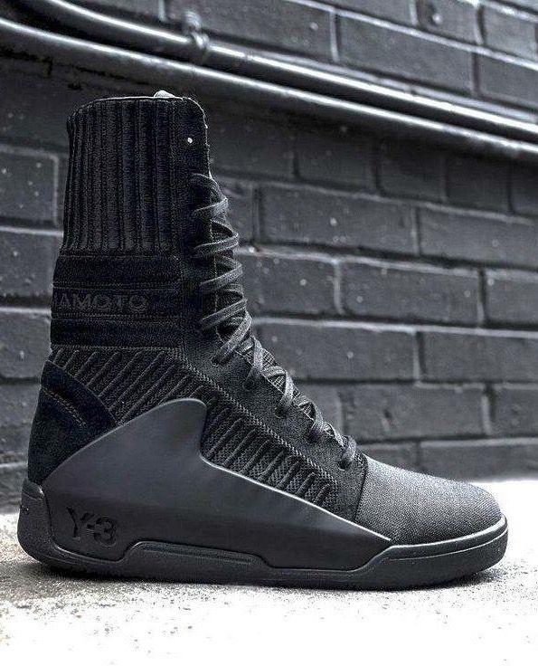big sale 7d7cb 4e9fa adidas Y-3 Hayworth Boot Sapatos Masculinos Na Moda, Moda Sneakers,  Sapatilhas,