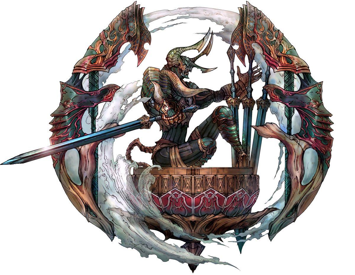 Final Fantasy Zodiac Tactics Art