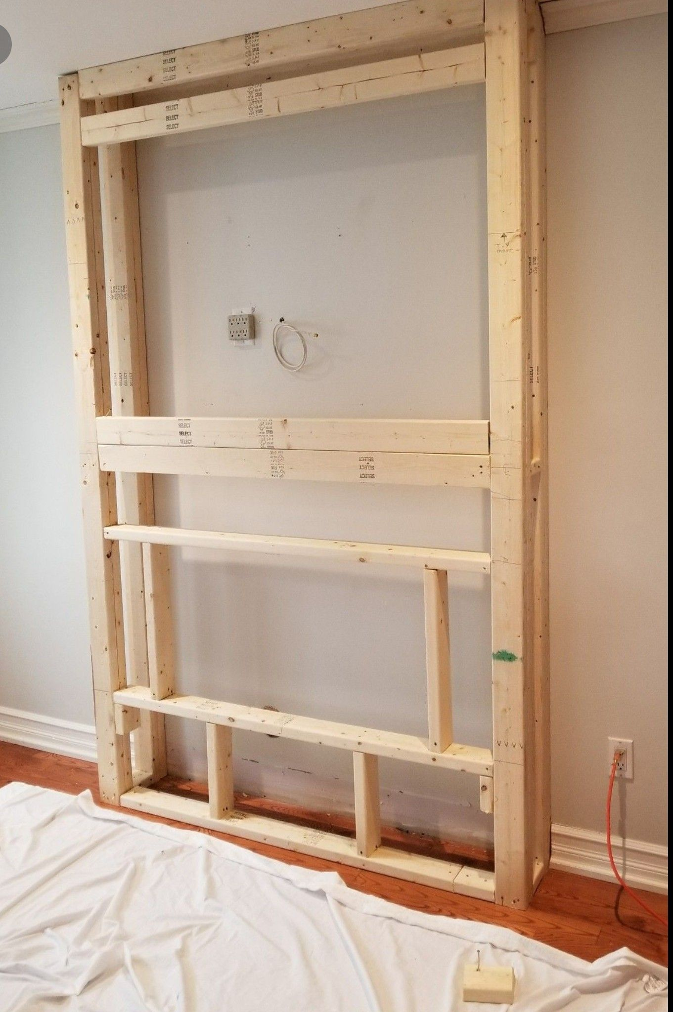 build out for fireplace | diy in 2019 | wohnzimmerwand, tv