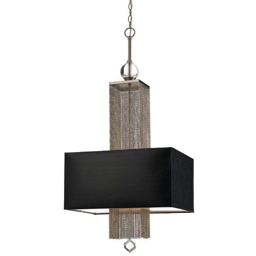 Casby Brushed Silver Chandelier By Candice Olson