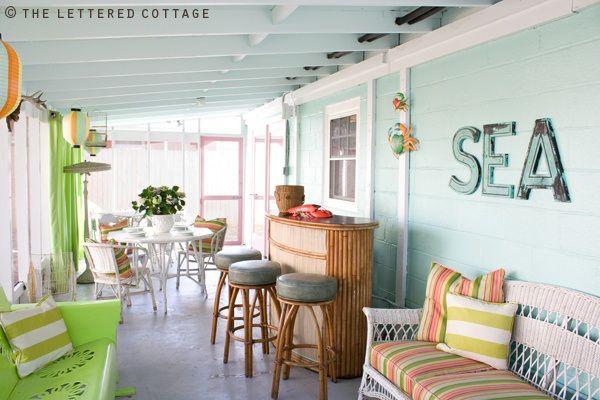 coastal patio decor and style