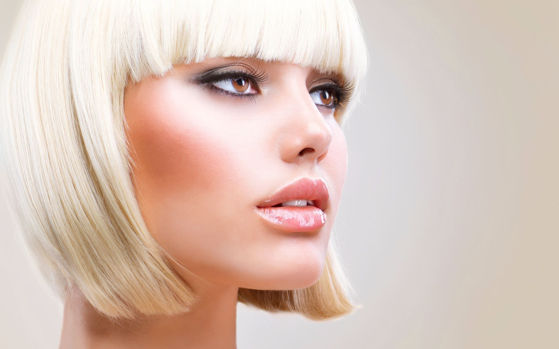 beauty look wallpapers: Head And Face Photo References