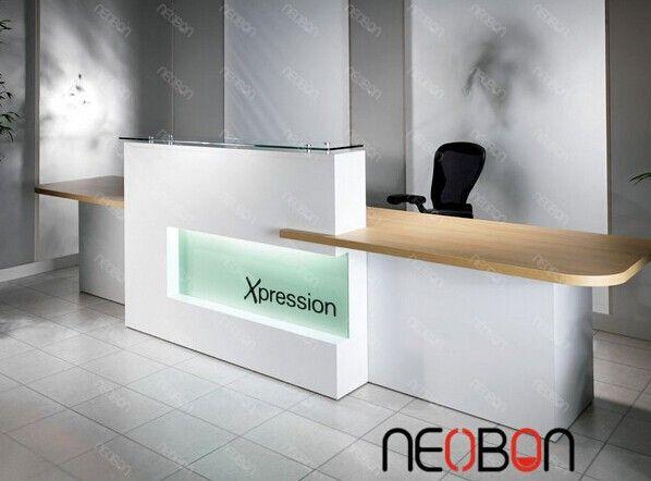 Pin de en pinterest recepciones y oficinas for Muebles de oficina recepcion