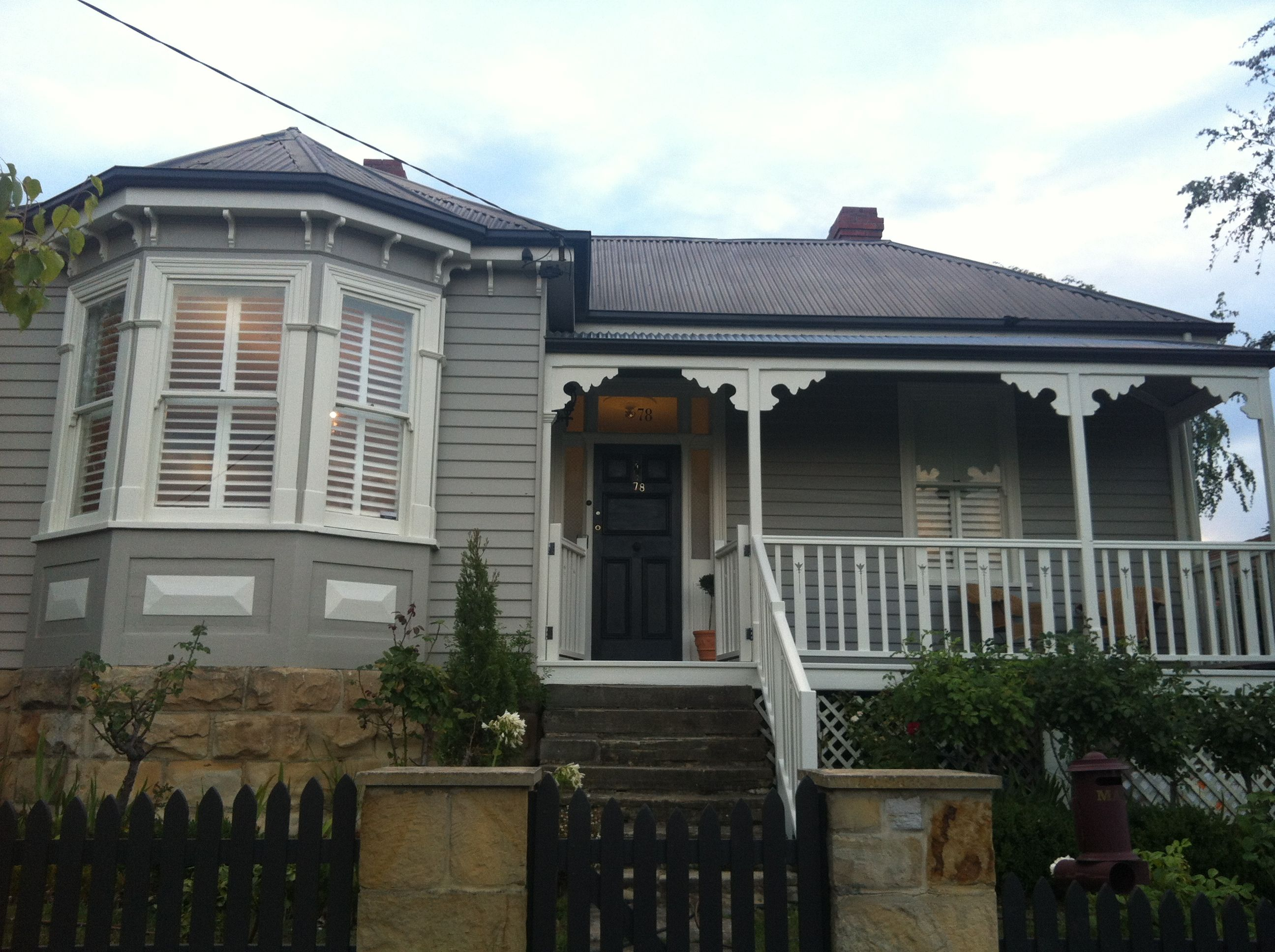 Traditional australia federation exterior inspirations paint - Australian Federation Weatherboard New Colours