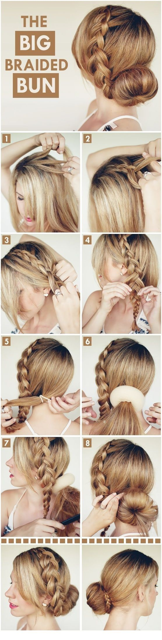 Seven stepbystep easy and fashionable hairstyles that would make