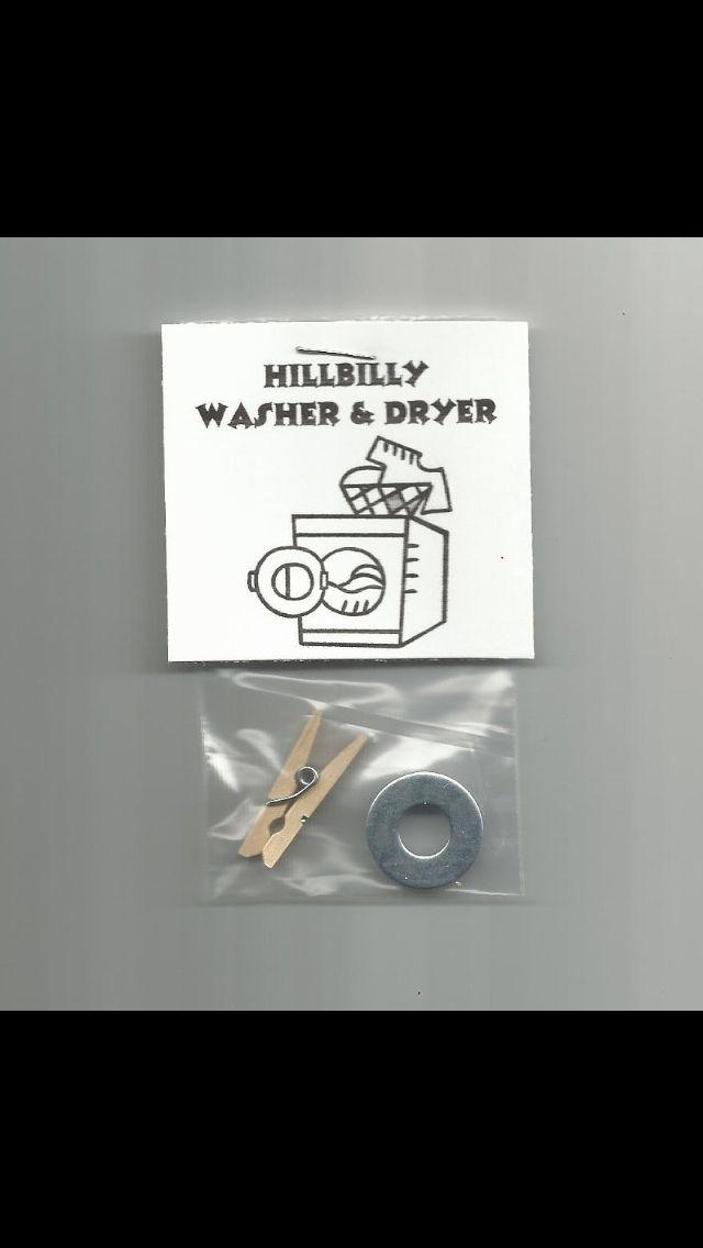 Washer & Dryer | Redneck-Hillbilly Party | Pinterest