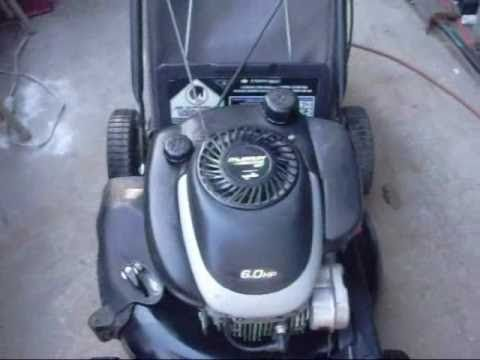 How to fix a gas lawnmower that starts then dies - YouTube | DIY