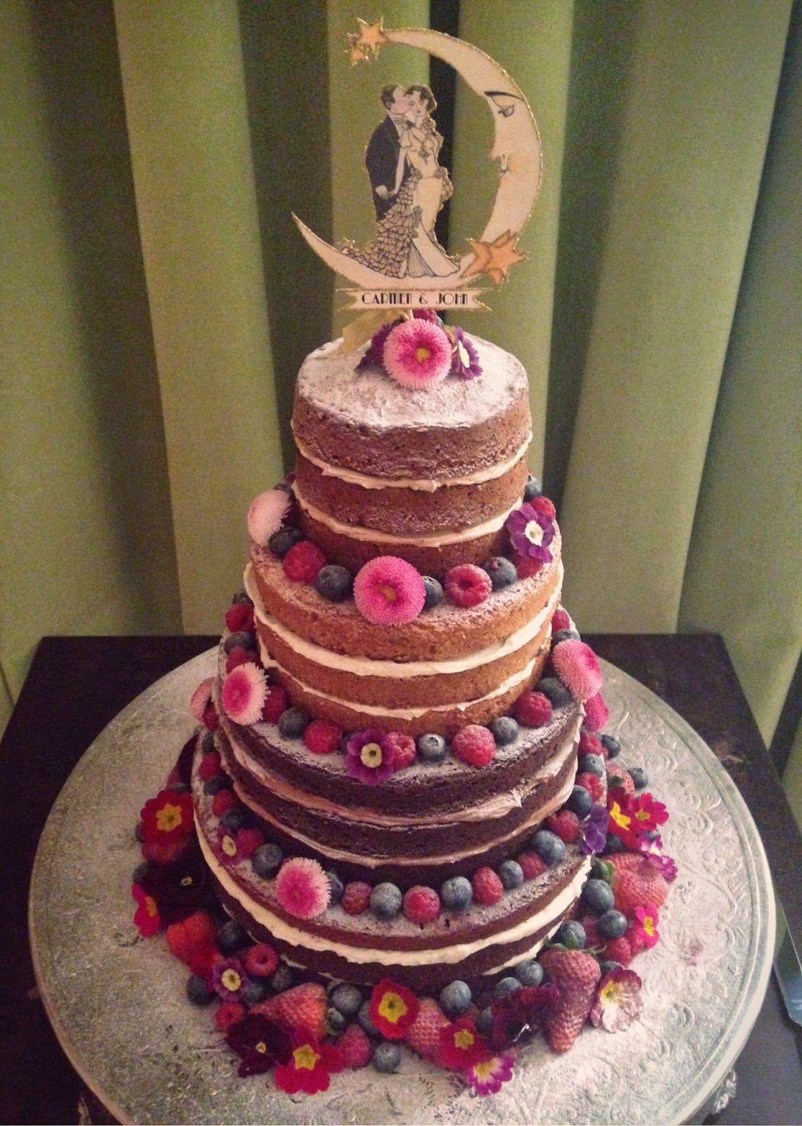 Pin auf WEDDING NAKED CAKES