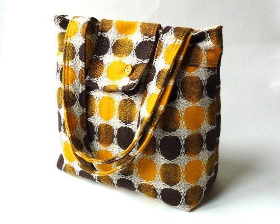 Wool Messenger  Diaper bag  Travel bag  Shoulder Bag
