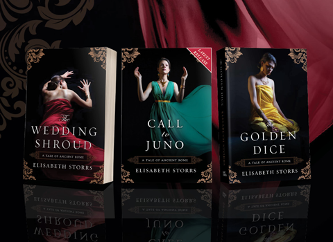 The Wedding Shroud and The Golden Dice are monthly deals on Amazon for August. #bargains #historicalfiction