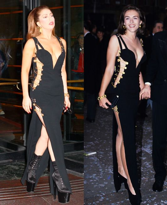 Dress Of The Day Versus Safety Pin Dress Fashion Celebrity Outfits Versace Dress