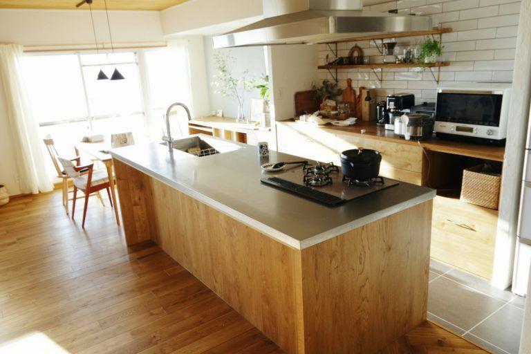 実際やって良かったことベスト7 リノベーションの家づくり 約2年暮らしてみて 家 づくり リビング キッチン 家